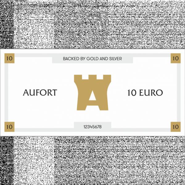 Aufort деньги 10 EUR