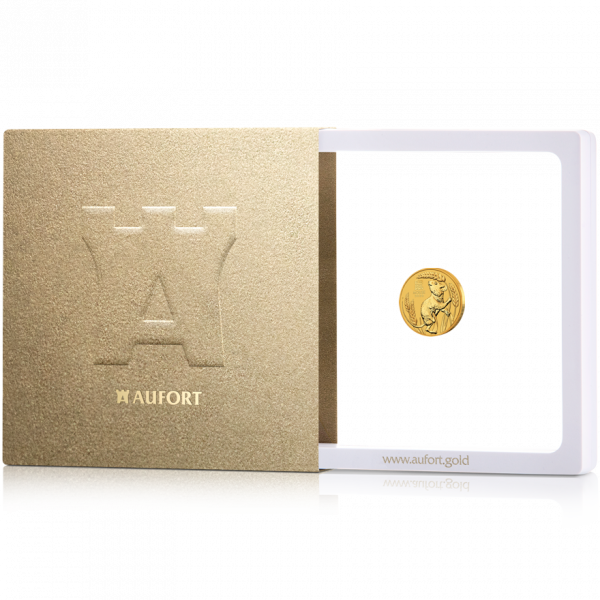 1/10 oz Gold Coin (Our Choice) in Gift Package