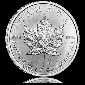 1 oz Canadian Silver Maple Leaf Coin
