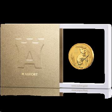 31,1 г (1 oz) золотая монета, в подарочной упаковке
