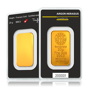20 gram Gold Bar