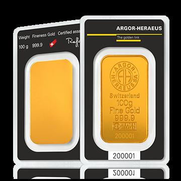 100 gram Gold Bar