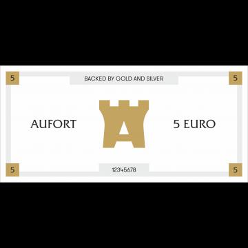 Aufort деньги 5 EUR