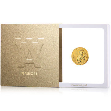 7,775 г (1/4 oz) золотая монета, в подарочной упаковке