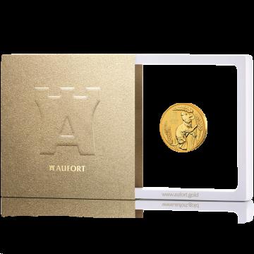15,55 г (1/2 oz) золотая монета, в подарочной упаковке