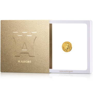 3,11 г (1/10 oz) золотая монета, в подарочной упаковке