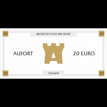 Aufort деньги 20 EUR